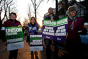 Unison members on the TUC Day of Action 30th November, Sheffield Health & Social Care HQ..© Martin Jenkinson, tel 0114 258 6808 mobile 07831 189363 email martin@pressphotos.co.uk. Copyright Designs & Patents Act 1988, moral rights asserted credit required. No part of this photo to be stored, reproduced, manipulated or transmitted to third parties by any means without prior written permission