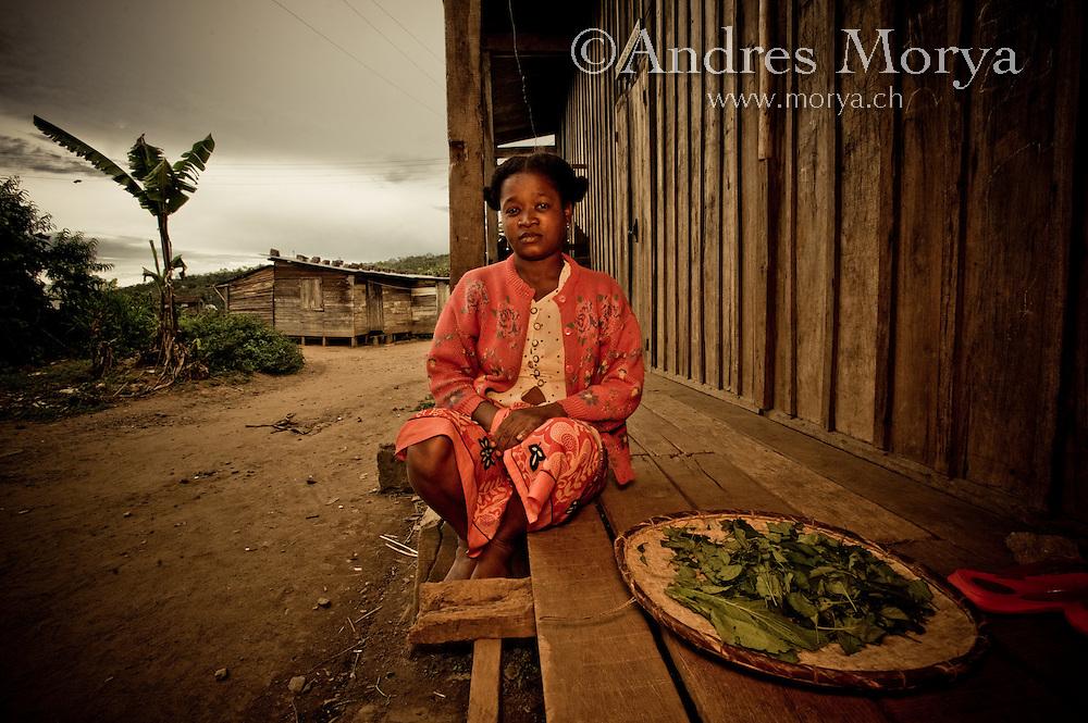Malagasy Woman, Andasibe, Madagascar Image by Andres Morya