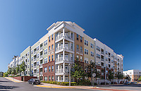 Exterior image of Ridgewood by Windsor Apartments in Fairfax VA by Jeffrey Sauers of Commercial Photographics, Architectural Photo Artistry in Washington DC, Virginia to Florida and PA to New England