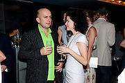 MARC QUINN; MOLLIE DENT-BROCKLEHURST;    Dinner hosted by Julia Peyton-Jones and Hans Obrist for the Council of the Serpentine to celebrate: Jeff Koons, Popeye Series. Paramount Club, Paramount Centre Point. London. 30 June 2009