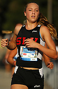 Oct 20, 2006; Walnut, CA, USA; Taylor Johnson of San Lorenzo Valley places 11th in the girls Division III sweepstakes race in 19:34 over the 2.91-mile course in the 59th Mt. San Antonio College Cross Country Invitational.