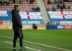 Bristol City Head Coach Lee Johnson - Mandatory by-line: Jack Phillips/JMP - 11/01/2020 - FOOTBALL - DW Stadium - Wigan, England - Wigan Athletic v Bristol City - English Football League Championship