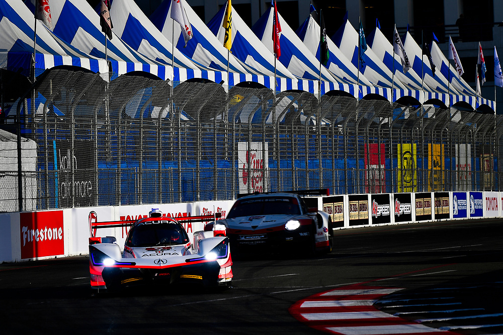 #6 Acura Team Penske Acura DPi, P: Dane Cameron, Juan Pablo Montoya<br /> Friday 13 April 2018<br /> BUBBA burger Sports Car Grand Prix at Long Beach<br /> Verizon IndyCar Series<br /> Streets of Long Beach CA USA<br /> World Copyright: Scott R LePage<br /> LAT Images