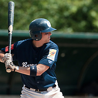 23 May 2010: Stosh Hoover of Montpellier is seen at bat during game 1/week 7 of the French Elite season match won 19-9 by Montpellier over the PUC, at the Pershing Stadium in Vincennes, near Paris, France.