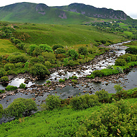 River Near Glenbeigh along the Ring of Kerry, Ireland<br />