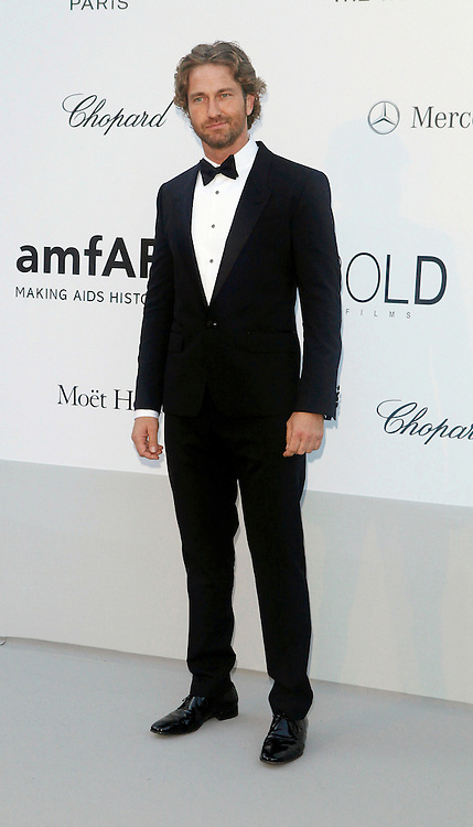 24.MAY.2012. CANNES<br /> <br /> GERARD BUTLER AT THE AMFAR CINEMA AGAINST AIDS 2012 DURING THE CANNES FILM FESTIVAL, CANNES, FRANCE.<br /> <br /> BYLINE: EDBIMAGEARCHIVE.CO.UK<br /> <br /> *THIS IMAGE IS STRICTLY FOR UK NEWSPAPERS AND MAGAZINES ONLY*<br /> *FOR WORLD WIDE SALES AND WEB USE PLEASE CONTACT EDBIMAGEARCHIVE - 0208 954 5968*