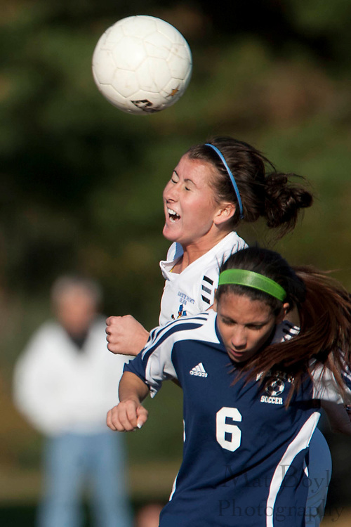 Gloucester County College defeats Middlesex County College 1-0 in a NJCAA Region XIX Semi-Final at Gloucester County College in Sewell, NJ on Tuesday, October 25, 2011.