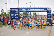 2007 Cellcom Green Bay Marathon.  Photo © Mike Roemer / Mike Roemer Photography Inc.  920-347-9323.  Usage fee must be established before any usage of this image.  RoemerPhoto.com