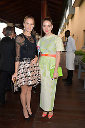 Left to right, CAROLINE TEMPLETON and MARIELLA TANDY at The Women for Women International & De Beers Summer Evening held at The Royal Opera House, Covent Garden, London on 23rd June 2014.