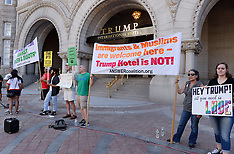 Washington: Trump's DC hotel set to open today