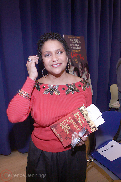 "Debbie Allen, at "" Cat on a Hot Tin Roof "" Press conference announcing limited broadway run,  at Broad Hurst Theater on January 8, 2008 in New York City"
