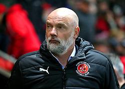 Fleetwood Town manager Uwe Rosler - Mandatory by-line: Matt McNulty/JMP - 17/01/2017 - FOOTBALL - Highbury Stadium - Fleetwood,  - Fleetwood Town v Bristol City - Emirates FA Cup Third Round Replay