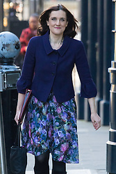 Downing Street, London, February 23rd 2016. Northern Ireland Secretary Theresa Villiers arrives at the weekly cabinet meeting.  &copy;Paul Davey<br /> FOR LICENCING CONTACT: Paul Davey +44 (0) 7966 016 296 paul@pauldaveycreative.co.uk