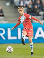 FODBOLD: Anfører Søren Henriksen (FC Helsingør) under kampen i ALKA Superligaen mellem AGF og FC Helsingør den 13. april 2018 i Ceres Park. Foto: Claus Birch.