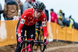 ROCHETTE Maghalie (CAN) during Women Elite race, 2019 UCI Cyclo-cross World Cup Heusden-Zolder, Belgium, 26 December 2019.  <br /> <br /> Photo by Pim Nijland / PelotonPhotos.com <br /> <br /> All photos usage must carry mandatory copyright credit (Peloton Photos | Pim Nijland)