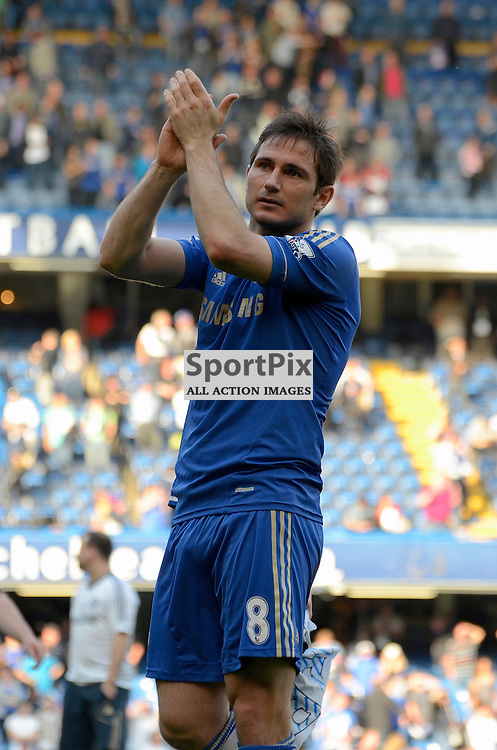 Frank Lampard applaudes the fans. (c) Michael Hulf | StockPix.eu