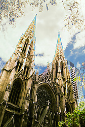 Abstract design image St. Patrick's Cathedral 5th Avenue NYC