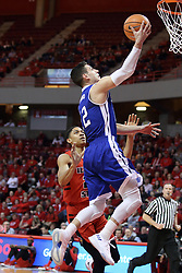 21 February 2018:  Reed Timmer during a College mens basketball game between the Drake Bulldogs and Illinois State Redbirds in Redbird Arena, Normal IL