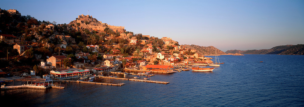 TURKEY, SOUTH COAST Kale (Simena); fishing village