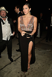 Katharine McPhee Shows Some Leg at The Republic Records Grammy Party. 13 Feb 2017 Pictured: Katharine McPhee. Photo credit: BITSY / MEGA TheMegaAgency.com +1 888 505 6342