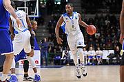 DESCRIZIONE : Eurocup 2014/15 Last 32 Gruppo H Dinamo Banco di Sardegna Sassari - Buducnost VOLI Podgorica<br /> GIOCATORE : Jerome Dyson<br /> CATEGORIA : Palleggio Blocco<br /> SQUADRA : Dinamo Banco di Sardegna Sassari<br /> EVENTO : Eurocup 2014/2015<br /> GARA : Dinamo Banco di Sardegna Sassari - Buducnost VOLI Podgorica<br /> DATA : 28/01/2015<br /> SPORT : Pallacanestro <br /> AUTORE : Agenzia Ciamillo-Castoria / Luigi Canu<br /> Galleria : Eurocup 2014/2015<br /> Fotonotizia : Eurocup 2014/15 Last 32 Gruppo H Dinamo Banco di Sardegna Sassari - Buducnost VOLI Podgorica<br /> Predefinita :