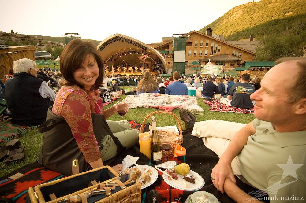 Lisa & Dan at Deer Valley Music Festival