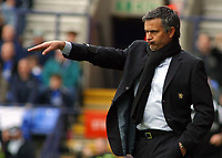 Photo: Paul Thomas.<br /> Bolton Wanderers v Chelsea. The Barclays Premiership. 15/04/2006.<br /> <br /> Jose Mourinho, Chelsea manager