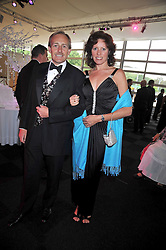 DAVID & DEBBIE PAINE at The Butterfly Ball in aid of the Caudwell Children Charity held in Battersea park, London on 14th May 2009.