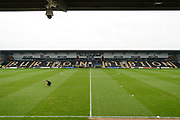 Burton Albion pitch ahead of the EFL Sky Bet Championship match between Burton Albion and Nottingham Forest at the Pirelli Stadium, Burton upon Trent, England on 11 March 2017. Photo by Jon Hobley.