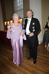 MARGARET JEFFERSON-TUCKER and HUGH MACPHERSON at the 13th annual Russian Summer Ball held at the Banqueting House, Whitehall, London on 14th June 2008.<br /><br />NON EXCLUSIVE - WORLD RIGHTS