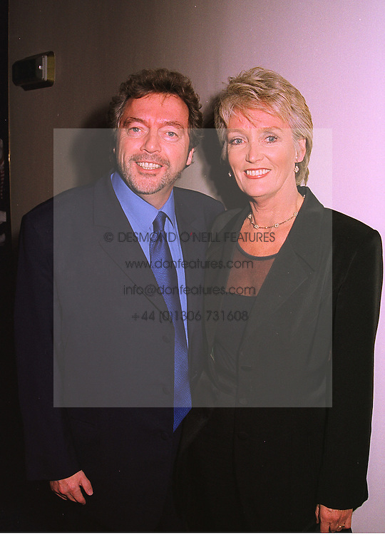 MR & MRS JEREMY BEADLE he is the TV presenter, at a party in London on 4th November 1998.MLO 20