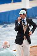 Henley, Great Britain.  Henley  Umpire Richard PHELPS   Henley Royal Regatta. River Thames,  Henley Reach.  Royal Regatta. River Thames Henley Reach. Thursday  15:19:41  30/06/2011  [Intersport Images] . HRR