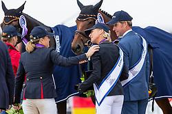 Funnell PIppa, GBR, Klimke Ingrid, GER <br /> European Championship Eventing<br /> Luhmuhlen 2019<br /> © Hippo Foto - Stefan Lafrentz<br /> 01/09/2019