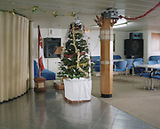 A Christmas tree in the first class restaurant of KM Nggapulu.<br /> <br /> Indonesia&rsquo;s Pelni is the last great true passenger liners company in the world. It is the only company of its size that still serves scheduled vessels transporting people across various destination. In a far-flung archipelago nation, where many of the islands have no airport and most of its area made up of water, it is one important mean of transportation&mdash;and simply one of the best way to travel. One of Pelni's furthest regular route starts from Surabaya in East Java and ends in Papuan city of Merauke, basically the eastern end of Indonesia. The round trip voyage takes one month, passing more than two dozen ports and covering a distance of more than 8,000 kilometers.