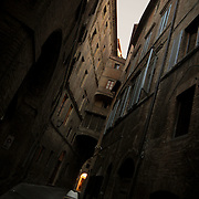 The medieval city of Siena, Toscana. Italy.