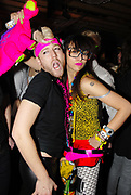 Namalee Bolle and a guy wearing New Rave styles, Posing, Anti-Social, London December 2006