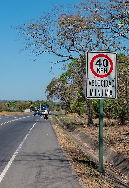 Minimum speed. Cost Rica
