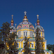 Svyato-Voznesenski Orthodox Cathedral, designed by a local architect A.Zenkov, was built in 1904. It is one of the eight most unique wooden buildings in the world. Its wall paintings, screens and interior decorations strike one's imagination with its beauty and splendor. Of special interest is the fact that it survived the 1911 earthquake with a magnitude of 10 on Richter scale.