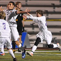 10.27.2011 Amherst at Avon Boys Varsity Soccer