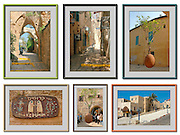 6 image collage of Jaffa, Israel