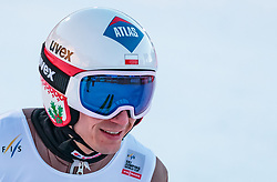 17.03.2018, Vikersundbakken, Vikersund, NOR, FIS Weltcup Ski Sprung, Raw Air, Vikersund, Team, im Bild Gesamtführender Kamil Stoch (POL) // Overall Leader Kamil Stoch of Poland during Team Competition of the 4th Stage of the Raw Air Series of FIS Ski Jumping World Cup at the Vikersundbakken in Vikersund, Norway on 2018/03/17. EXPA Pictures © 2018, PhotoCredit: EXPA/ JFK
