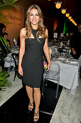ELIZABETH HURLEY at the PAD London 2015 VIP evening held in the PAD Pavilion, Berkeley Square, London on 12th October 2015.