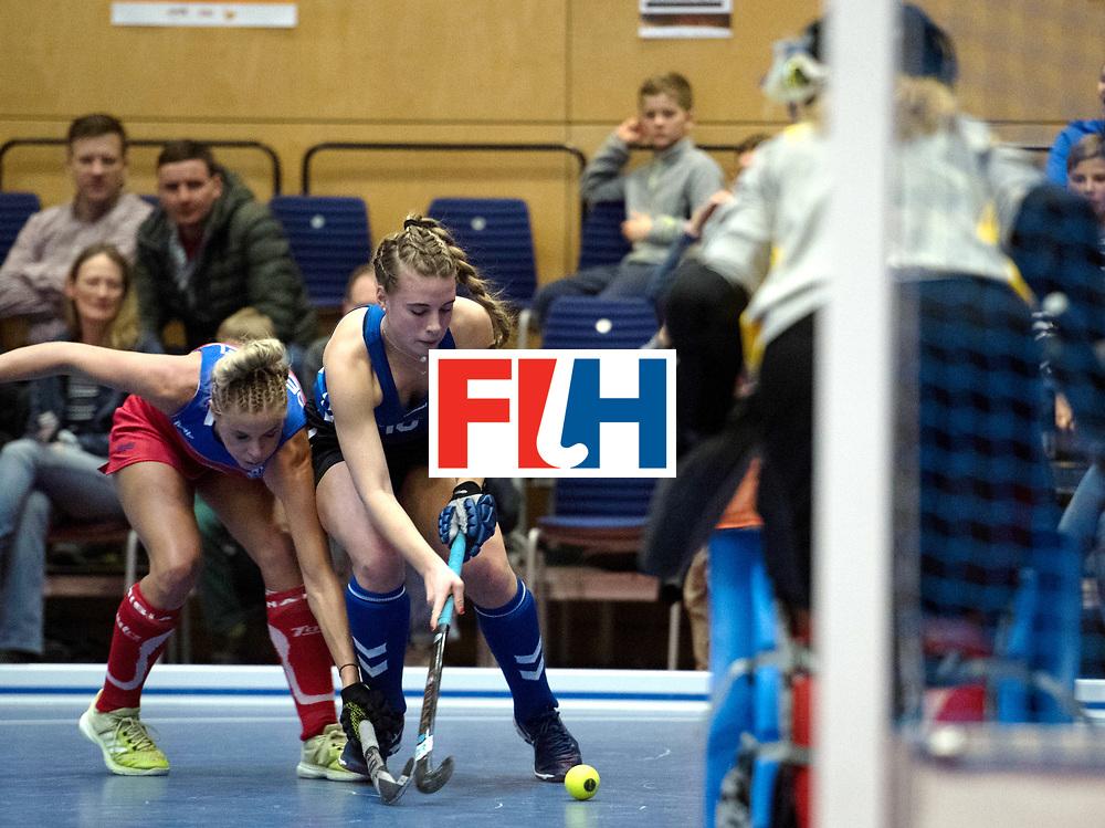 BERLIN - Indoor Hockey World Cup<br /> United States - Namibia<br /> foto: Sammy Popper <br /> WORLDSPORTPICS COPYRIGHT FRANK UIJLENBROEK