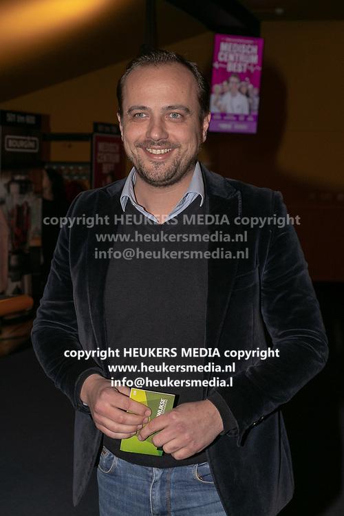 2019, Februari 18. Rijswijkse Schouwburg, Rijswijk. Premiere van Medisch Centrum Best. Op de foto: Geert Hoes