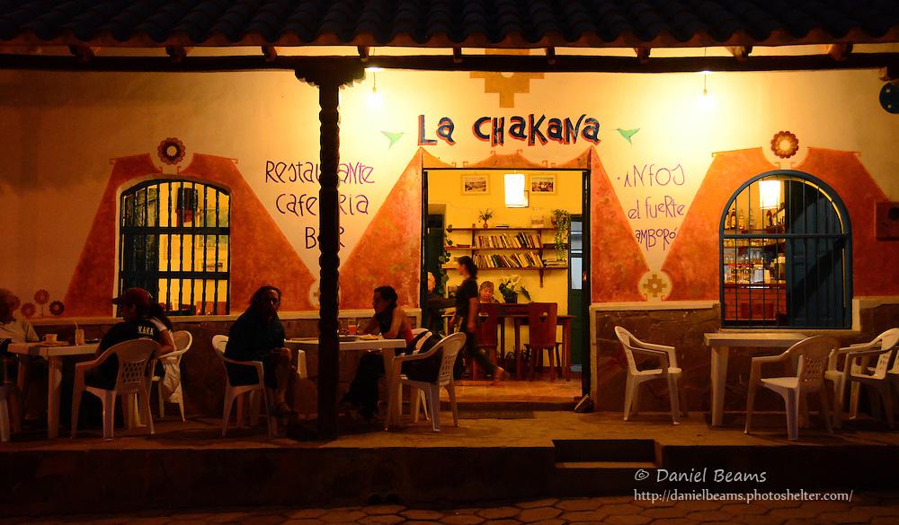La Chakana restaurant in Samaipata, Santa Cruz, Bolivia