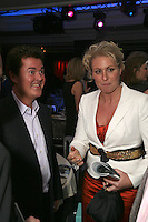 Simon Fuller and guest