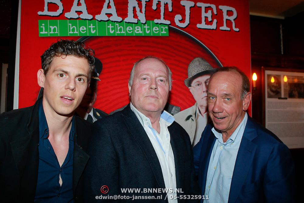NLD/Amsterdam/20130513 -  Perspresentatie Baantjer,  Mike Weerts, Peter Tuinman en Peter Romer