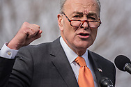 Sen. Schumer speaks against the GOP tax plan on Capitol Hill 11.15.1027. (Photo: Ann Little)