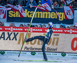 10.01.2015, Kulm, Bad Mitterndorf, AUT, FIS Ski Flug Weltcup, Bewerb, im Bild Gregor Schlierenzauer (AUT) // reacts after his Competition Jump of the FIS Ski Flying World Cup at the Kulm, Bad Mitterndorf, Austria on 2015/01/10, EXPA Pictures © 2015, PhotoCredit: EXPA/ Dominik Angerer