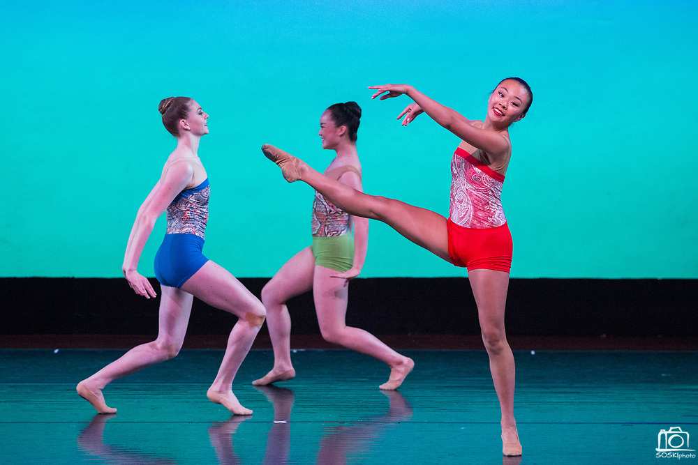 Dance Connection Palo Alto Ballet Company performs their Spring Performance in Palo Alto, California, on April 23, 2017. (Stan Olszewski/SOSKIphoto)